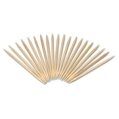 "Round Wood Toothpicks, 2 1/2"", Natural, 19200/Carton R820"