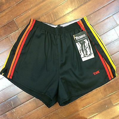 Trax USA Vintage 80s Mens Large NWT New Running Track Shorts