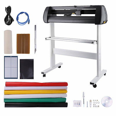 100-240V Vinyl Cutter With Stand Cutting Plotter Kits Contour Cut Plotter Q