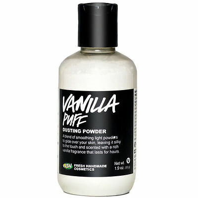 Lush Vanilla Puff Dusting Powder