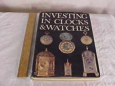 Book entitled Investing in Clocks & Watches--159 Pages