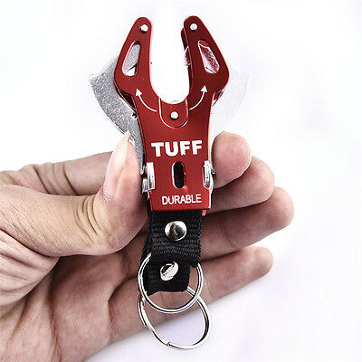 Aluminum Large Tiger Buckle Outdoor Climb Hook Carabiner Clip Lock Keychain