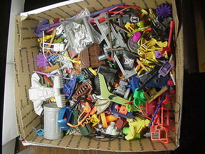 Huge Mixed Lot of 240+ Vintage Weapons Parts Accessories For Figures Vehicles #1