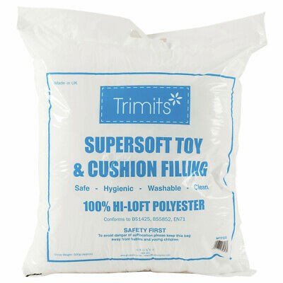 Trimits Supersoft Toy Filling / Cushion Stuffing 500g