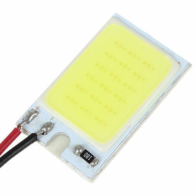 18 SMD COB LED T10 4W 12V White Light Car Interior Panel Lights Dome Lamp Bulb K