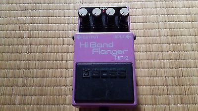 Boss HF-2 Flanger Guitar Effect Pedal [excellent] Made in Japan Free Shipping!!
