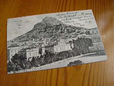 TOP993 - Postcard - Athens 1909