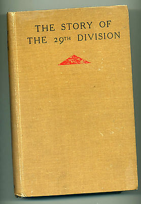 WW1 The story of the 29th Division. SIGNED by ALL 3 General Officers Commanding