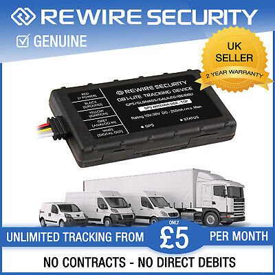 GPS Tracker for Car Vehicle Live Fleet Tracking Device Van Motorbike DB1-Lite