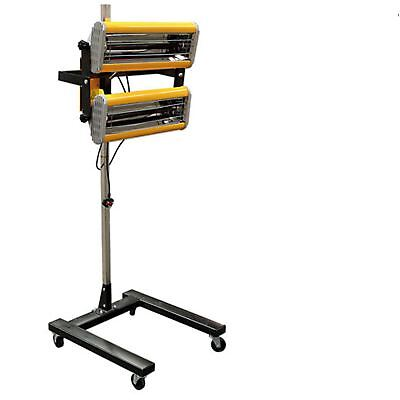 PowerTec Infra-Red Paint Drying Lamp 2kw With Timer on Wheels 230v AC Supply