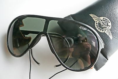 Bausch & Lomb Wings Frame France Nylon occhiali da sole vintage sunglasses