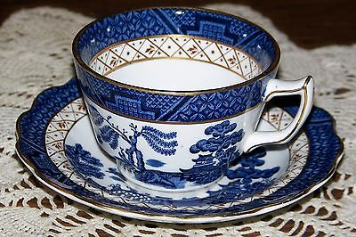 Booths England - Real Old Willow A8025 - Cup & Saucer Set - Superior Condition