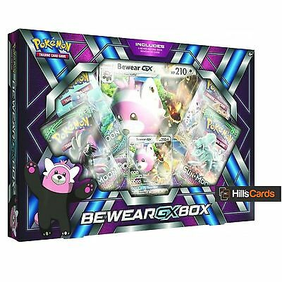Pokemon TCG Bewear GX Collection Box: Includes 4 Booster Packs + Promo Cards