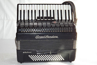 Piano accordion akkordeon ROYAL STANDARD METEOR 80 bass