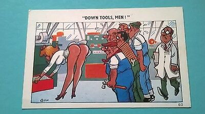 Sapphire Quip Post Card Saucy Seaside Comic Humour no 60 Unposted