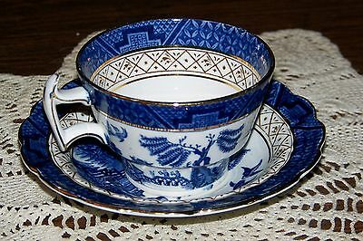Booths England - Real Old Willow (circa 1930) - Cup & Saucer - Superior Cond.