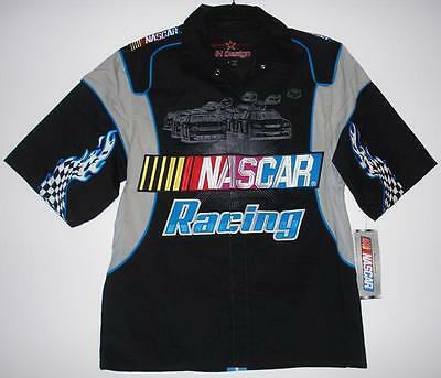SIZE S AUTHENTIC NASCAR RACING GENERIC Pit crew shirt  JH DESIGN NEW S