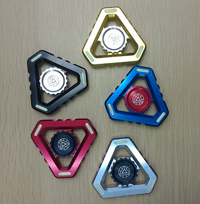 New Metal Hand Spinner Tri Fidget Focus Tool Transformers Toy Edc Finger Gyro