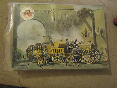 SET OF 16 POSTCARDS LIVERPOOL & MANCHESTER RAILWAY by ERGOPRINT BOLTON