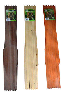 6 X 2ft EXPANDING WOODEN TRELLIS CLIMBING PLANTS ROSE CEDAR NATURAL DARK BROWN
