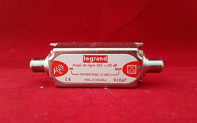Legrand 91047 Satellite Amplifier 95.-2150 Mhz