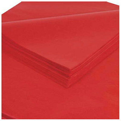 """Tissue Paper 20"""" x 30"""", Madarin Red, 480 Pack"""