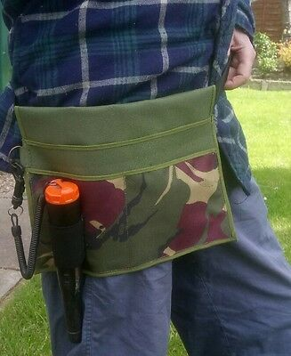 Metal Detecting Finds Pouch made with strong Durable waterproof material.