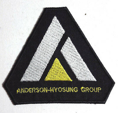 """Expanse TV Series Anderson-Hyosung Group Logo 3"""" Triangle Patch (EXPA-06)"""