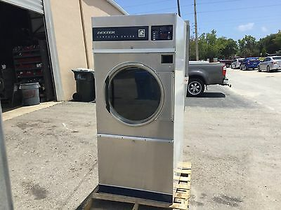 Coin Laundry Equipment-Dexter Commerical Single Dryer - 30LB DLC30QSS