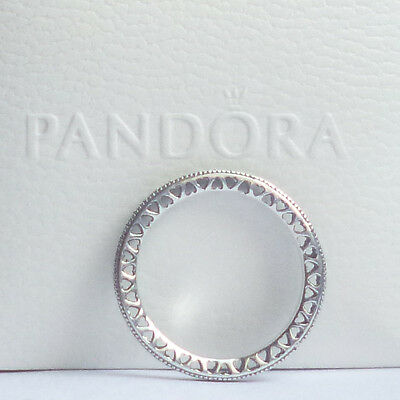 Hearts of Pandora Ring - size optional - genuine sterling silver ex condition!