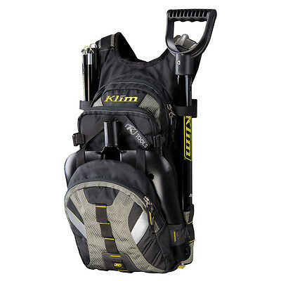 Klim Nac Pak riding pack including tool storage pouch and hydration bladder