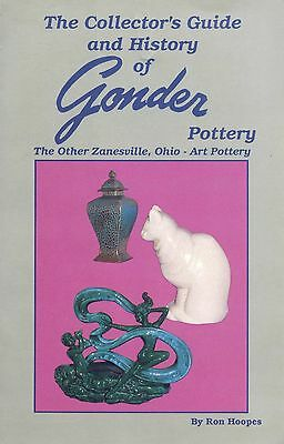 Gonder Zanesville Art Pottery Ceramics - Vases Lamps Figurines / Book + Values