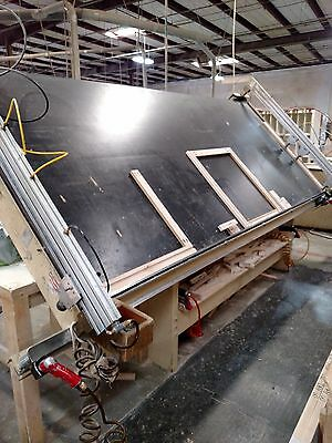 Ritter Assembly Frame Table 5' x12' & Double Spindle Boring Machine- Combo