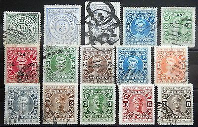 Indien India British Cochin Anchal State Lot I used