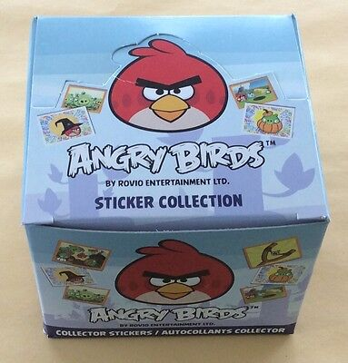Rovio Angry Birds 50 Packages Sticker Box NIP