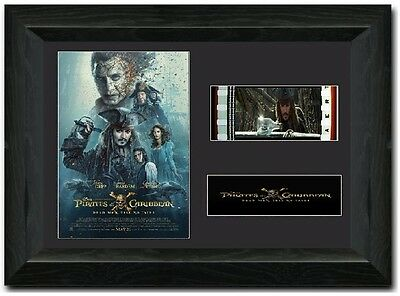 Pirates of the Caribbean: Dead Men Tell No Tales 35 mm Framed Film Cell Display