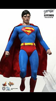 HOT TOYS Superman Christopher Reeve Man of Steel MMS152 - Figur 1/6 Scale
