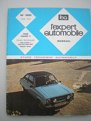 FORD Escort 2 Manuel Revue Technique L'EXPERT AUTOMOBILE RTA