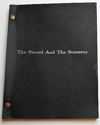 The Sword and the Sorcerer * 1981 Movie Script * Mercenary with a 3 bladed sword