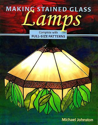 Making Stained Glass LAMPS, Stained Glass Book, Instructions, Patterns
