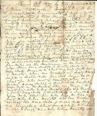 Early Massachusetts Deed for Property Bequeathed by Revolutionary War Chaplain