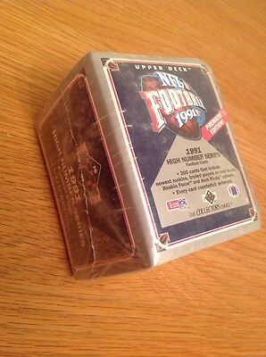 Upper Deck 1991 High Series Set NFL American Football TRADING CARDS Unopened