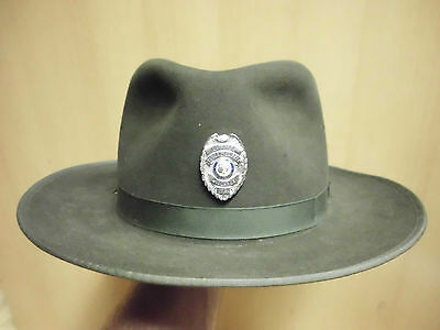 Old Sc Ddsn Midlands Center Public Safety Officer Columbia Stetson 7 3/4 Inches