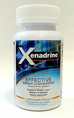CYTOGENIX SCIENCES XENADRINE EFFECTIVE 60 capsules Weight Loss Support