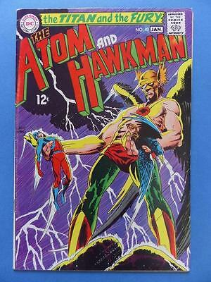 The Atom And Hawkman 42 1969 Kubert Cover!