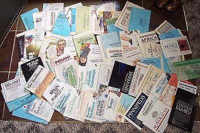 Vintage Lot National Geographic Map Inserts 72 total 1969-1990. Most 70's&80's.