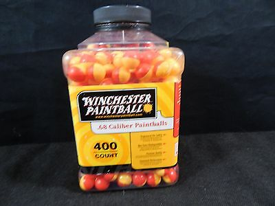 ZAP WINCHESTER 400 ct Paintballs .68 Caliber Tournament Grade Multi Color
