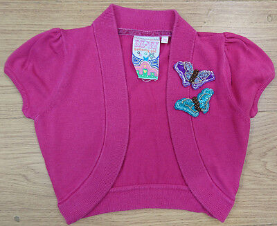 Butterfly Girl Debenhams Girls Shrug Age 7-8 Years Bolero