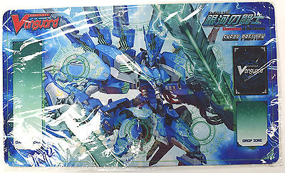 NEW Cardfight Vanguard Champions of the Cosmos SNEAK PREVIEW Rubber Playmat