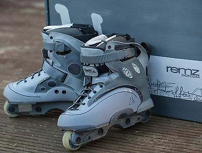 Remz 0701 Aggresive Inline Skates (Remedyz 07 ONE TEAM - Freedom of Feet) UK 8
